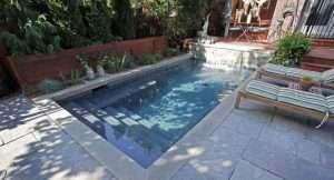 Projetos de piscinas pequenas.