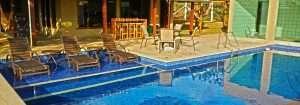 Projetos e instalação de piscinas com prainha.