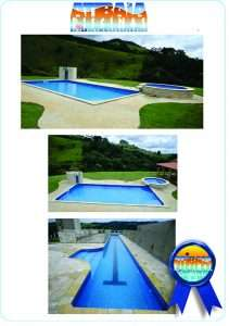 Serviço de construção de piscinas com cascata e SPA