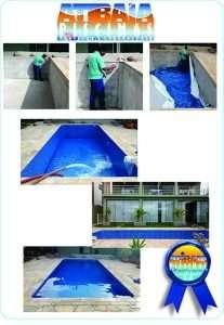 Serviço de Construção e instalação de piscinas de vinil